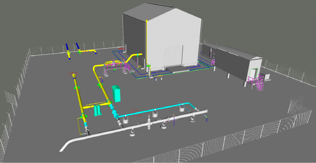 crude oil measurement facility design